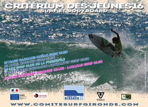 Classement ESPOIR Surf et Bodyboard 2016