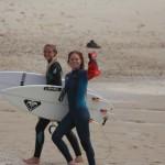 Ilonna Rondi et Juliette Brice, Lacanau Surf Club