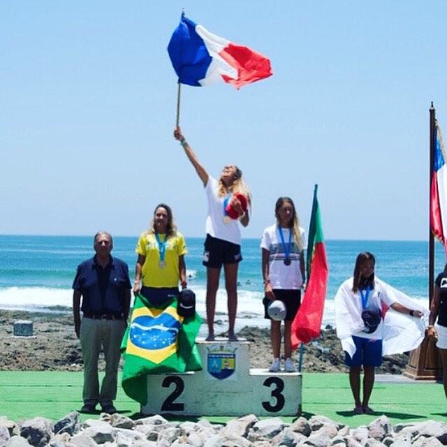 Anne Cécile sur la plus haute marche du podium !