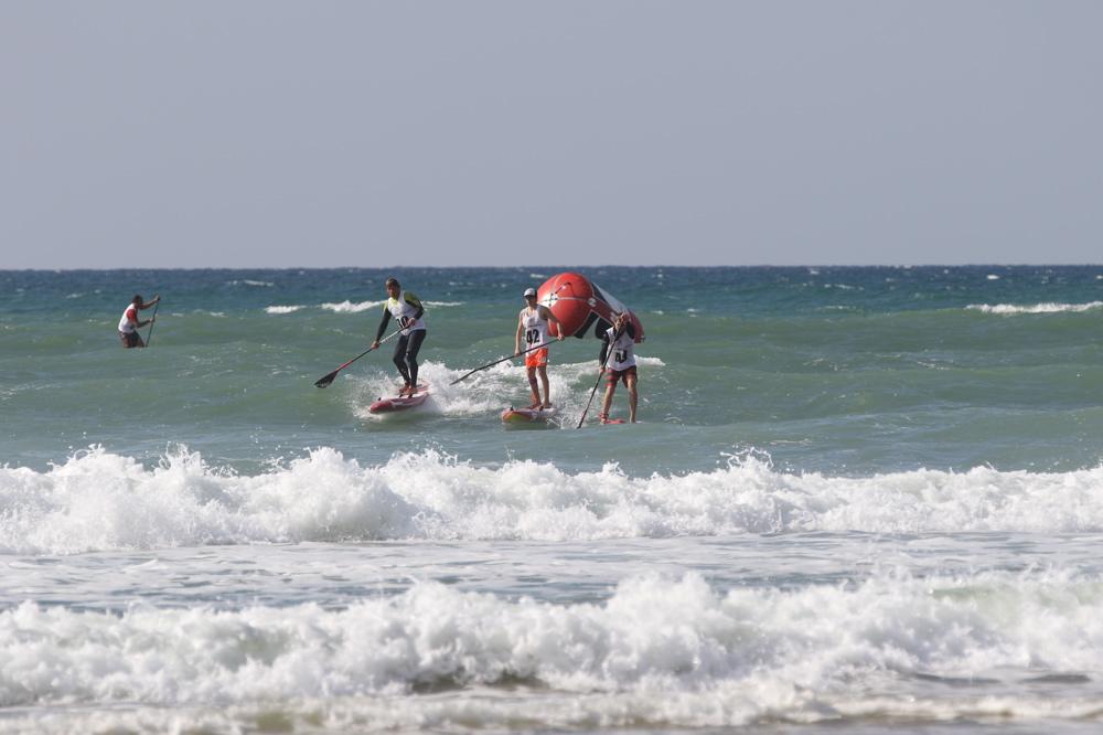 Beach Race au centre, Alex Bicrel