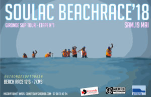 Soulac Beach Race - GIRONDE SUP TOUR 2018