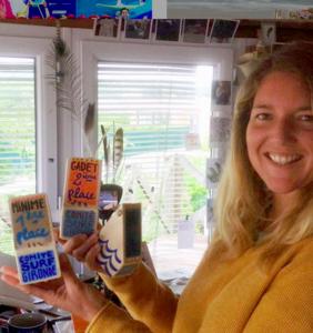 Pauline Beugnot, l'artiste à l'origine des trophées 2019 !